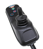 Back view of Joystick Module showing knob