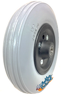 """CW201PB20 - 8""""x2"""" Invacare Assembly With Solid Urethane Tire And 7/16"""" Bearings"""