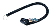 AC030- Universal Coiled Tether. Fits any wheelchair
