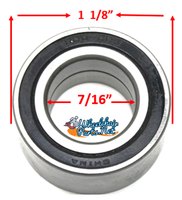 "B51P 7/16 X 1 1/8"" Precision, Rear Wheel Bearings Pack of 4"