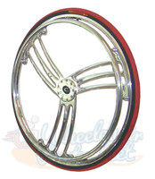 "RW720 Colours Billet Wheels 25 x 1"" ""T-WHEEL"" Sold As Pair"