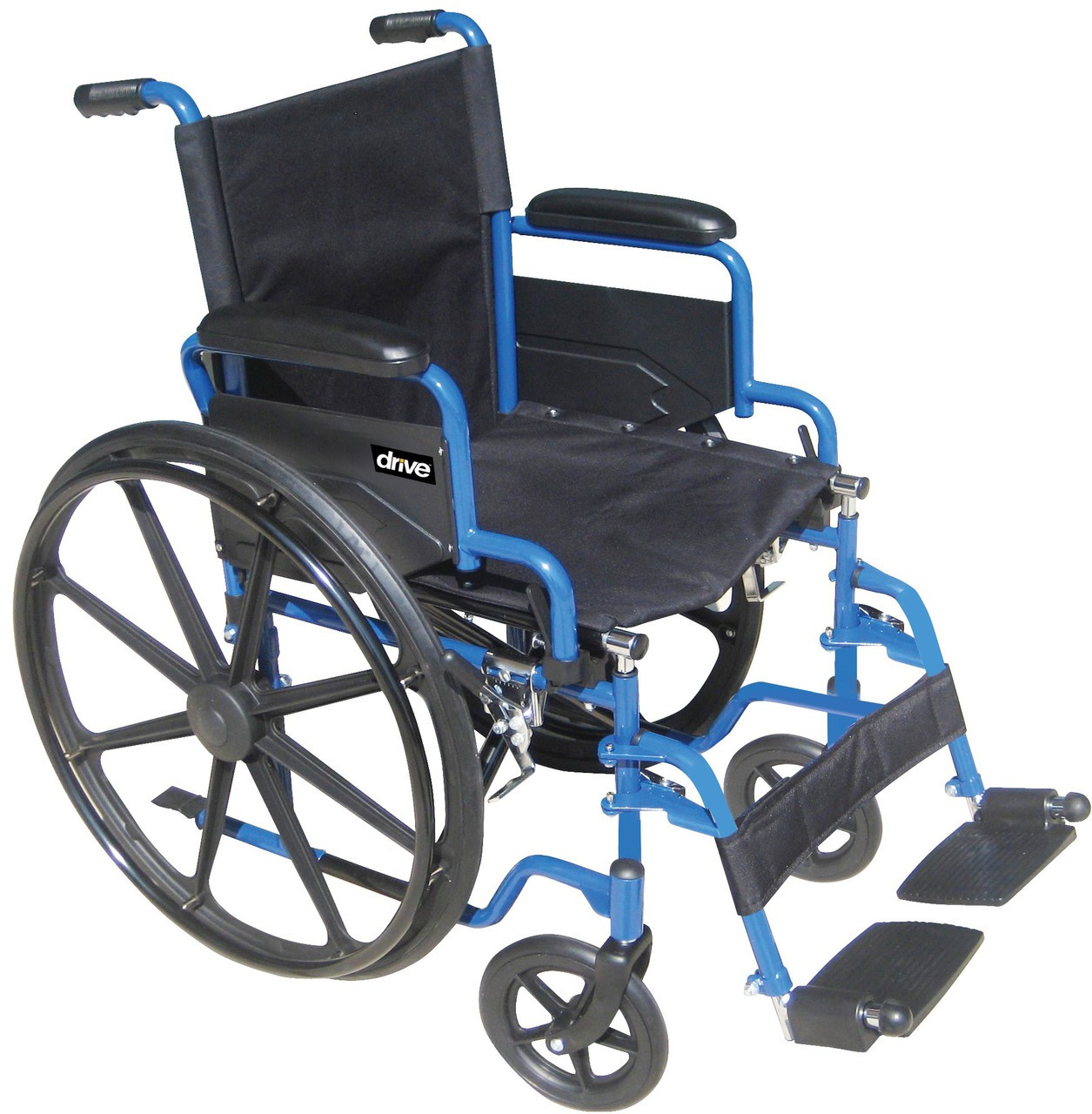 Drive Blue Streak Wheelchair - FREE SHIPPING