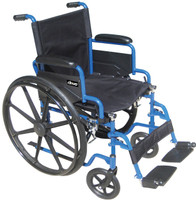 Drive Blue Streak Wheelchair  - FREE SHIPPING