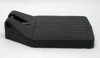 FP203 CENTER HINGE BLACK PLASTIC FOOTPLATE. SOLD AS EACH.