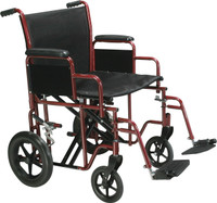 Drive Bariatric Steel Transport Chair FREE SHIPPING