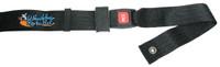 "SB030 PEDIATRIC PUSH BUTTON Positioning Belt 36"" LONG. Black 1.5"" Webbing."""