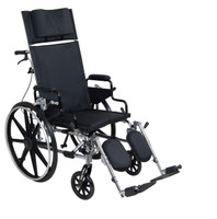 Drive Viper Plus Reclining Wheelchair Deluxe High Strength, Lightweight, Dual Axle FREE SHIPPING