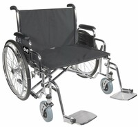 Drive Bariatric Sentra EC Heavy-Duty, Extra-Extra-Wide Wheelchair Dual Cross Brace FREE SHIPPING