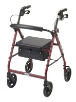 "Drive Aluminum Rollator, 7.5"" Casters FREE SHIPPING"
