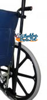 AC062- CRUTCH OR CANE HOLDER FOR WHEELCHAIR