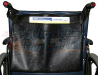AC125- VINYL BACK POCKET FOR WHEELCHAIRS