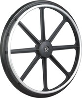 "STDS1001 Standard 24"" x 1"" Wheel for Drive Wheelchairs. Sols as each."