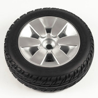 "10"" Black Flat-Free Drive Wheel Assembly for Jazzy Select. Sold as Each"
