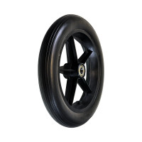 """12-1/2""""x2-1/4"""" Rear Caster Wheel for the Drive Bariatric Steel Transport Chair. Solds as Pairs"""