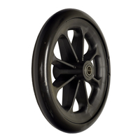 """8"""" Front Caster Wheel for the Drive Steel Transport Chair, and the Drive Blue Streak, Silver Sport 1, Silver Sport 2, and Silver Sport Full Wheelchairs"""