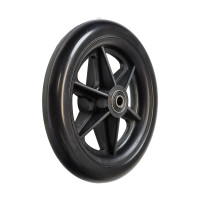 "6"" Front Caster Wheel for the Drive Fly-Lite Aluminum and TranSport Aluminum Transport Chairs. Sold as Pairs"