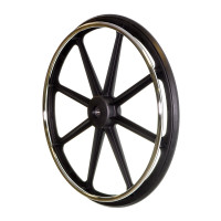 "24""x1"" Rear Wheel for the Drive Sentra EC Heavy Duty and Sentra Extra Heavy-Duty Bariatric Wheelchairs. Sold as Each"