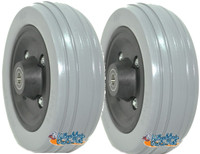 "6"" x 2"" PRIDE Front Anti-Tip / Rear Caster Wheel for Jazzy 614 and 614 HD. Sold as Pairs"
