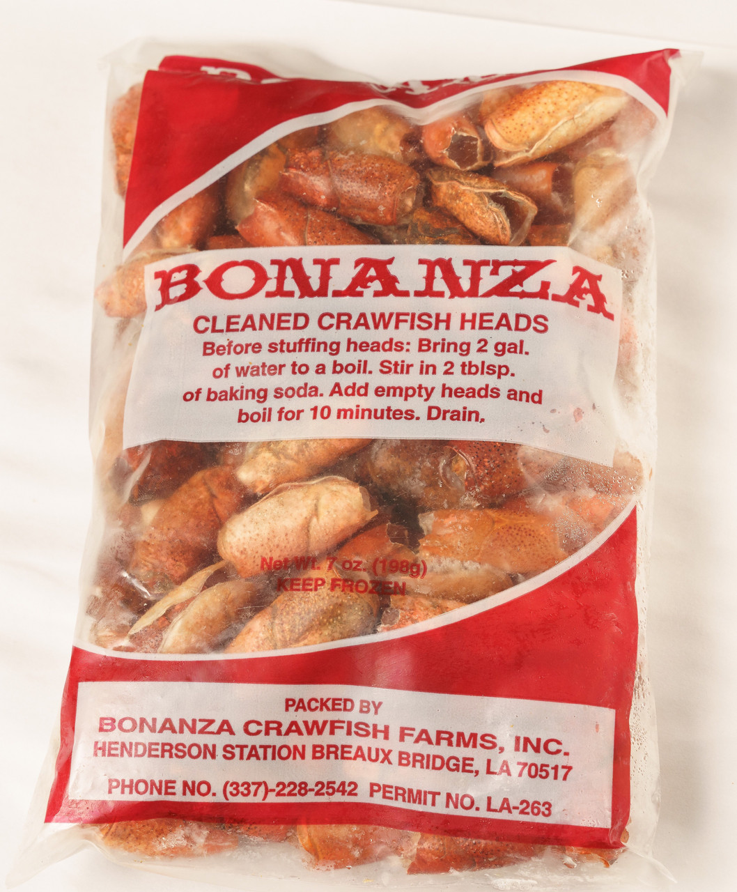 Bonanza Crawfish Heads (Frozen) - Shop Deanies