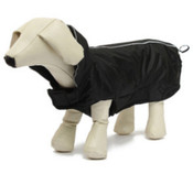 Large Black Dog Rain Coat