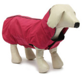 Large Claret Dog Rain Coat