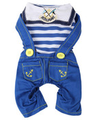 Blue Dog Sailor Suit