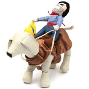 Cowboy Rodeo Rider Dog Costume