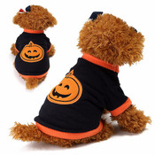 Black Pumpkin Halloween Dog Fleece Jumper