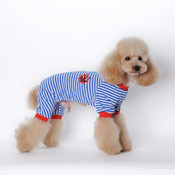 Blue Striped Sailor Dog Pyjamas