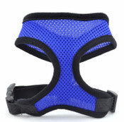 Dark Blue Soft Nylon Dog Harness