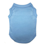 Blue Plain Dog Vest