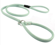 Blue PU Leather Dog Training Lead