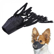 Black Nylon Dog Muzzle