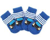 Blue Car Dog Socks