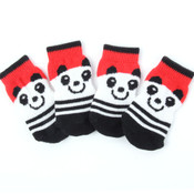 Red Panda Dog Socks