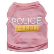 Pink Police K9 Security Dog Vest