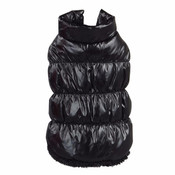Black Dog Body Warmer Coat