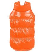 Orange Dog Body Warmer Coat