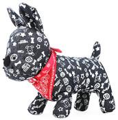 Red Paisley Dog Bandana Collar