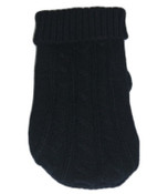 Black Mini Knitted Dog Jumper