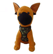 Green Army Camo Design Dog Harness