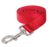Red Extra Long Nylon Dog Lead