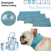 Blue Dog Neck Cooling Scarf