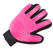 Pink Dog Grooming Glove