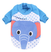 Blue Elephant Dog Sweatshirt