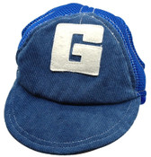 Blue G Dog Baseball Cap