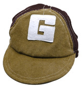 Brown G Dog Baseball Cap