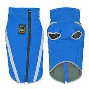 Large Blue Waterproof Fleece Dog Coat