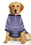 Large Blue Dog Sweatshirt