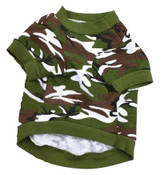 Green Camo Dog Shirt